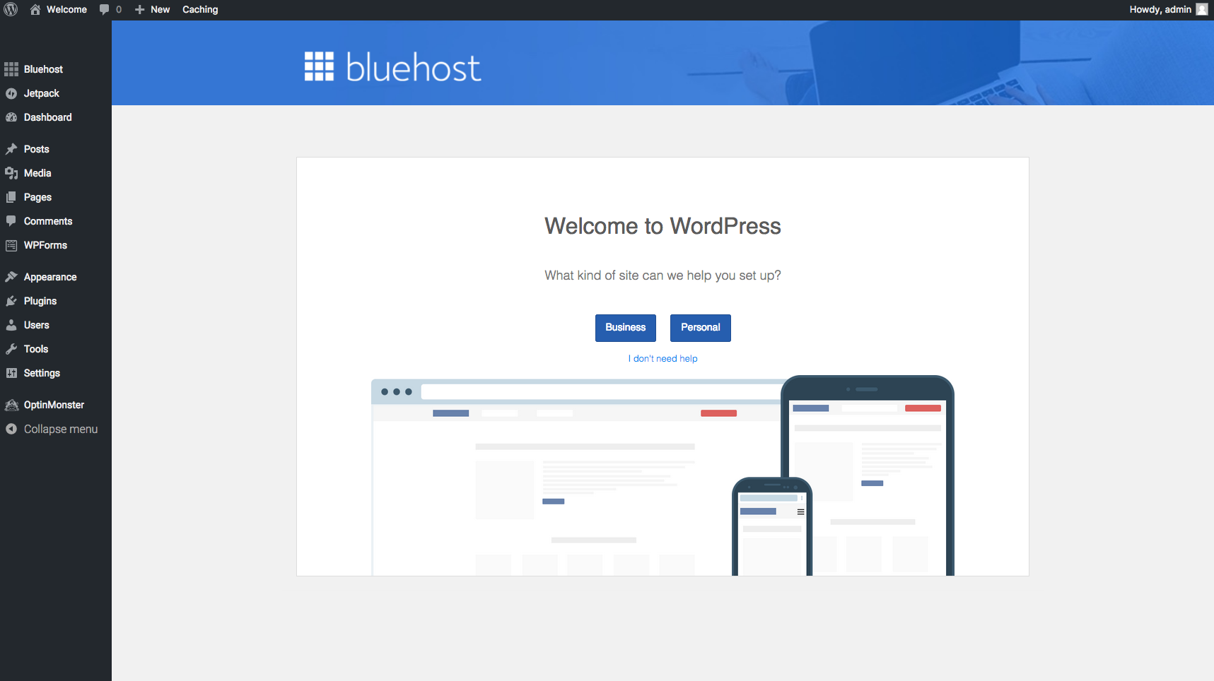 Bluehost signup - how to start a blog