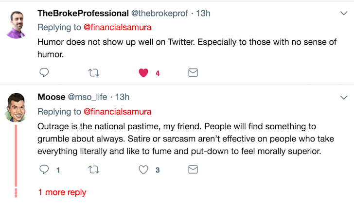 Twitter support for Financial Samurai