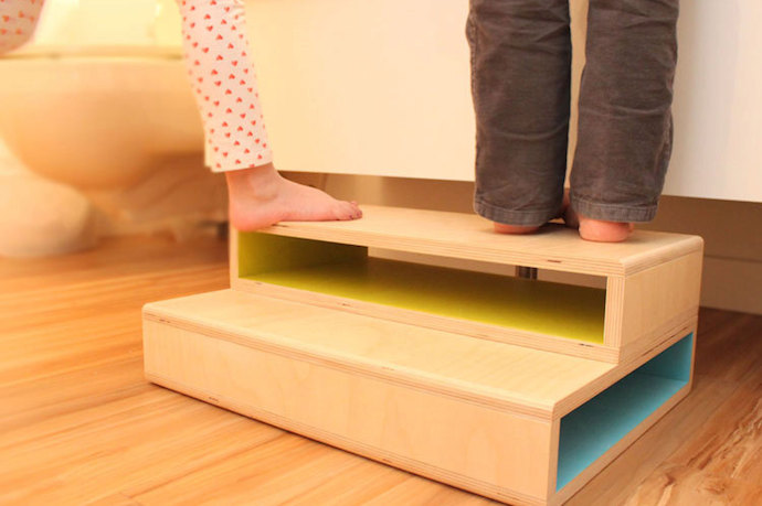 Kids Step Stool Diy How To Build