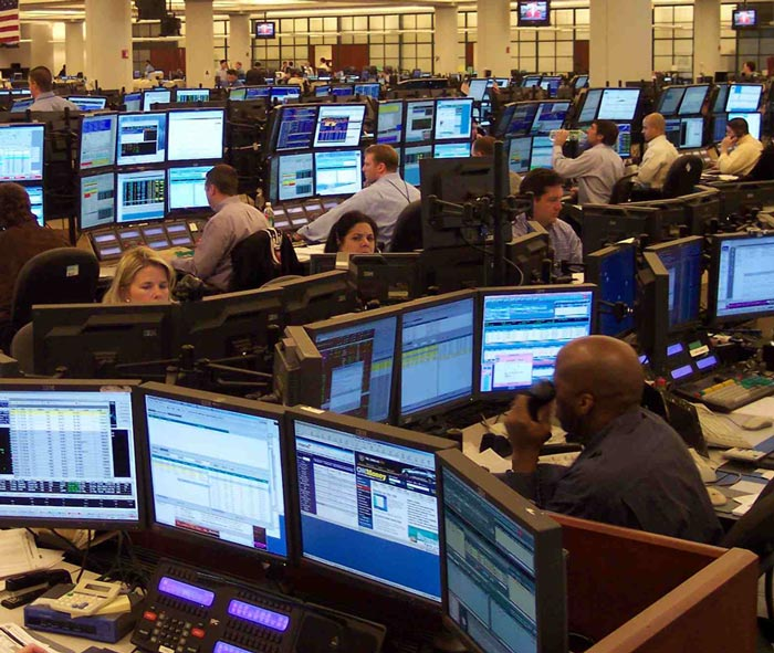 "Wall Street Trading Desks In ""I-Formation"""
