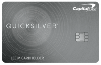 CapitalOne Quicksilver Cash Rewards Credit Card