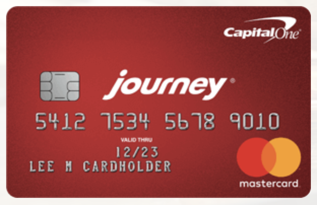 Capital One Journey credit card