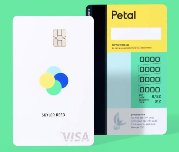 Petal Cash Back Visa