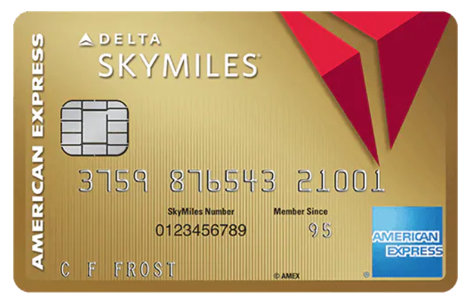 Gold Delta SkyMiles® Credit Card from American Express® - A best airlines credit card