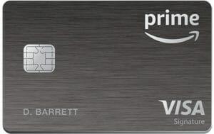 Amazon Prime Rewards Signature Visa