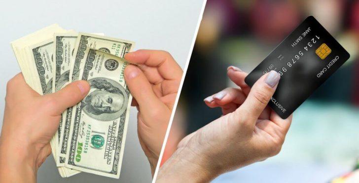 सबसे अधिक पैसा बचाने के लिए नकद या क्रेडिट से भुगतान करें