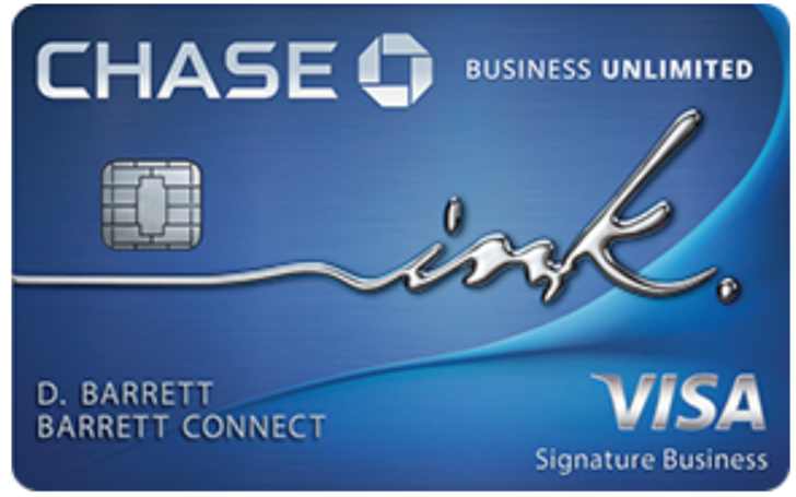 Chase Business Unlimited Credit Card